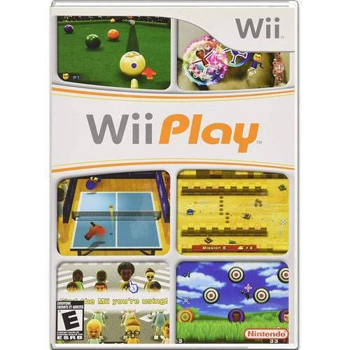 Wii Play Seminovo – Wii