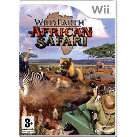 Wild Earth African Safari Seminovo – Wii