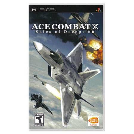 Ace Combat X Skies Of Deception Seminovo – PSP
