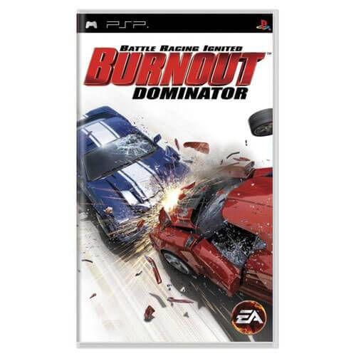 Burnout Dominator Seminovo – PSP