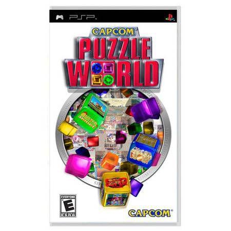 Capcom Puzzle World Seminovo – PSP