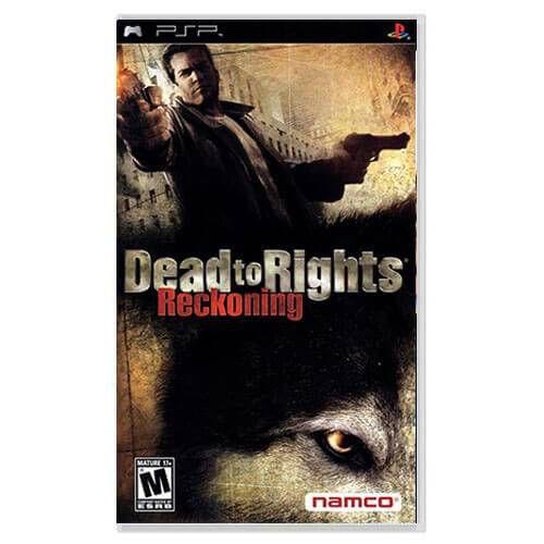 Dead to Rights Reckoning Seminovo – PSP