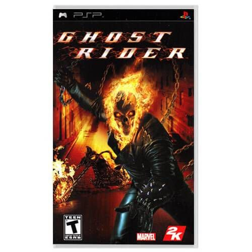 Ghost Rider Seminovo – PSP