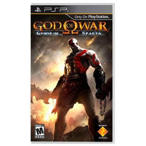 God of War Ghost of Sparta Seminovo – PSP