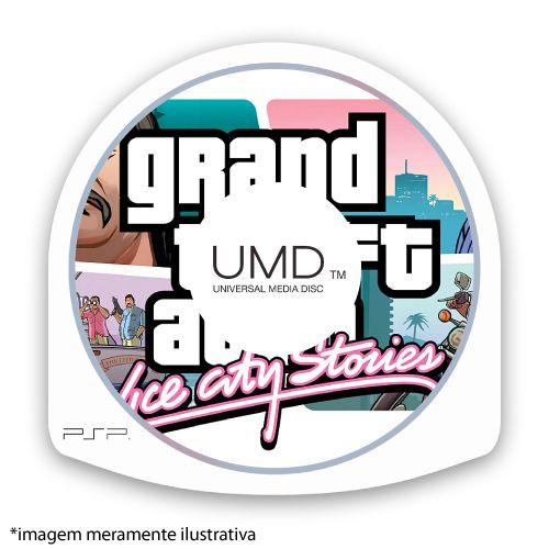 Grand Theft Auto: Vice City Stories (GTA) (SEM CAPA) Seminovo (EUROPEU) – PSP