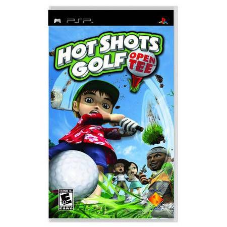 Hot Shots Golf OpenTee Seminovo – PSP