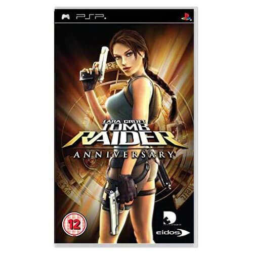 Lara Croft Tomb Raider Anniversary Seminovo – PSP
