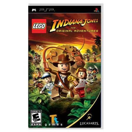 Lego Indiana Jones UMD Seminovo- PSP