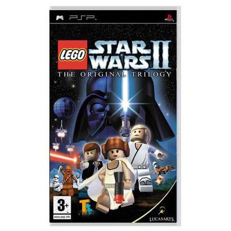 Lego Star Wars 2 The Original Trilogy UMD Seminovo – PSP