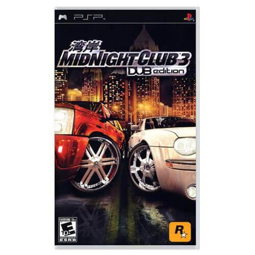 Midnight Club 3 Dub Edition Seminovo – PSP