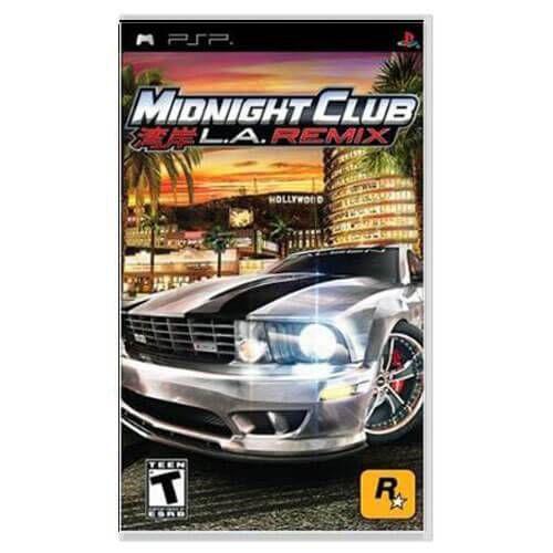 Midnight Club L.A. Remix Seminovo – PSP