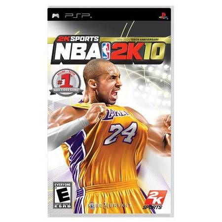 NBA 2K10 Seminovo – PSP