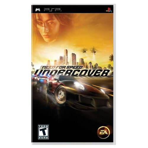 Need For Speed Undercover Seminovo – PSP