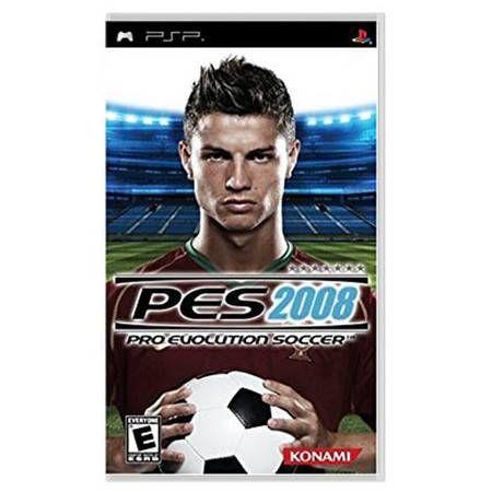 Pro Evolution Soccer 2008 UMD Seminovo – PSP