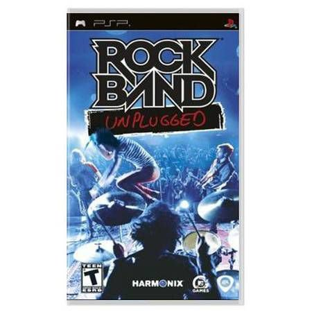Rock Band Unplugged UMD Seminovo – PSP