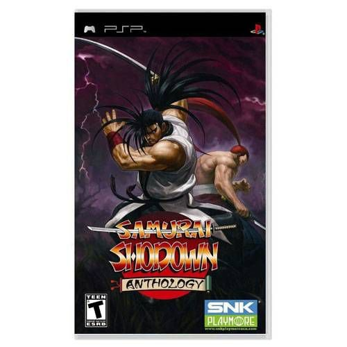 Samurai Shodown Anthology Seminovo – PSP