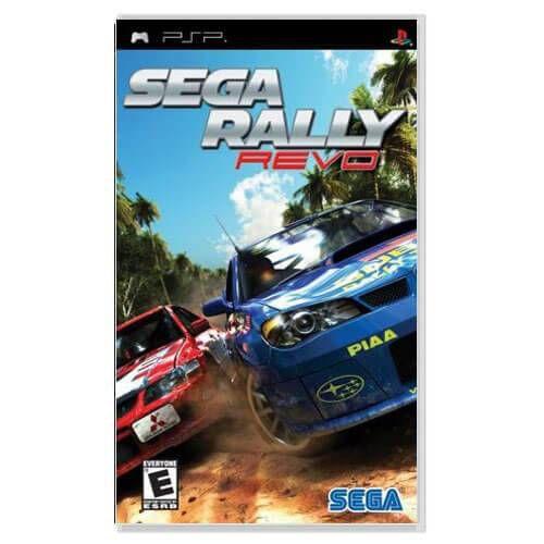 Sega Rally Revo Seminovo – PSP