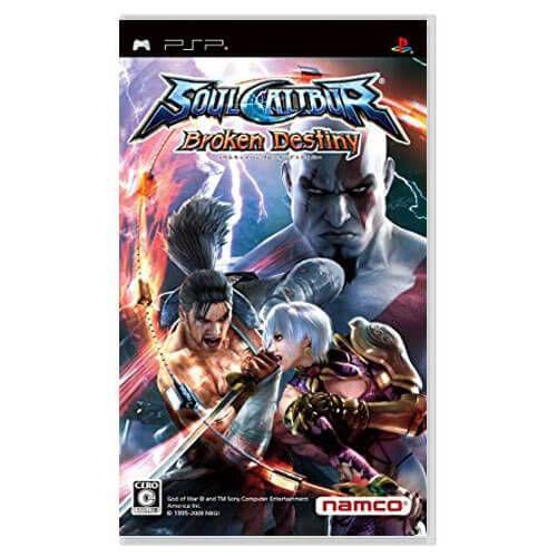 SoulCalibur Broken Destiny Seminovo – PSP
