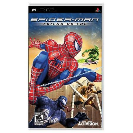 Spider-Man Friend Or Foe UMD Seminovo – PSP
