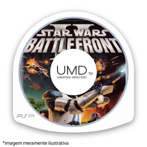 Star Wars Battlefront 2 (SEM CAPA) Seminovo - PSP
