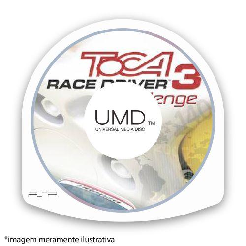 Toca Race Driver 3 Challenge (SEM CAPA) Seminovo - PSP