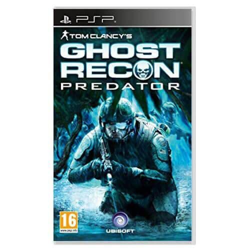 Tom Clancy's Ghost Recon Predator Seminovo – PSP