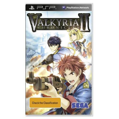 Valkyria Chronicles 2 Seminovo – PSP