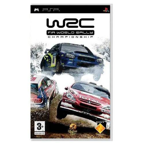 WRC Fia World Rally Championship Seminovo – PSP