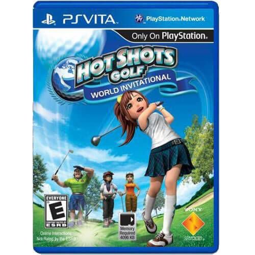 Hot Shots Golf World Invitational Seminovo – PS VITA