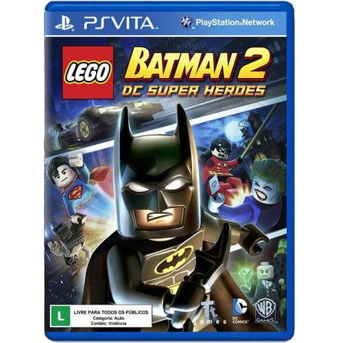 Lego Batman 2: Dc Super Heroes Seminovo – PS VITA
