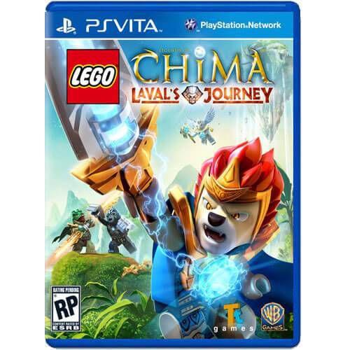 Lego Legends Of Chima Laval's Journey Seminovo – PS VITA
