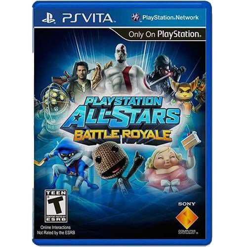 Playstation All-Stars Battle Royale Seminovo – PS VITA