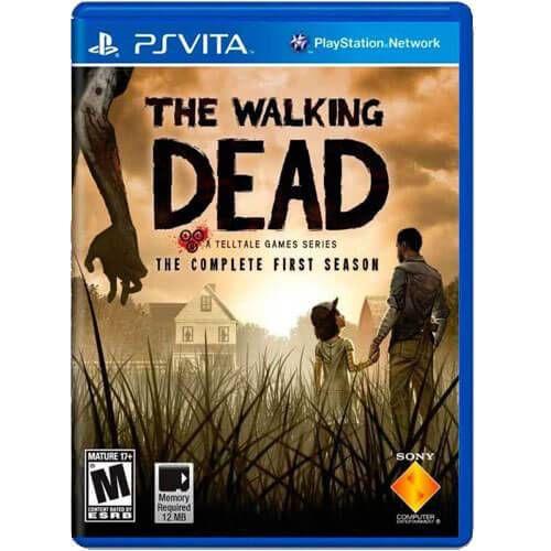 The Walking Dead The Complete First Season Seminovo – PS VITA