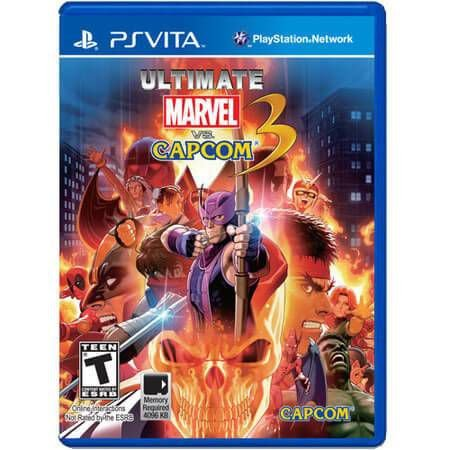 Ultimate Marvel VS Capcom 3 Seminovo – PS VITA