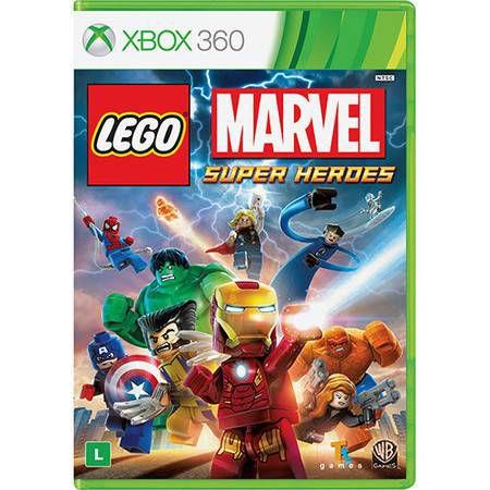 Lego Marvel Super Heroes Seminovo – Xbox 360