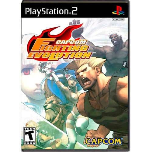Capcom Fighting Evolution Seminovo – PS2