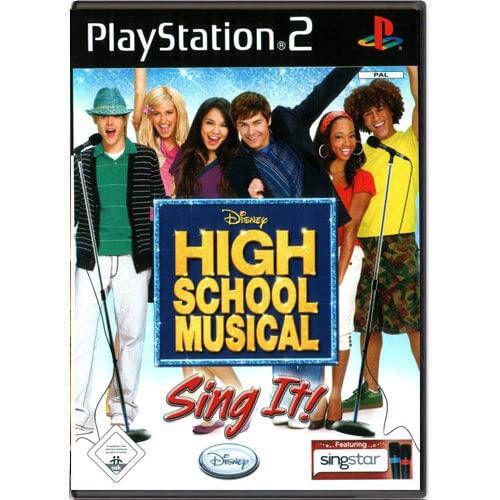 Disney High School Musical Sing It! Seminovo – PS2