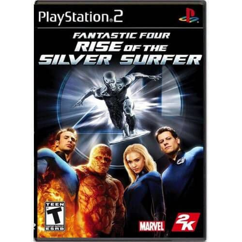 Fantastic Four Rise of The Silver Surfer Seminovo – PS2