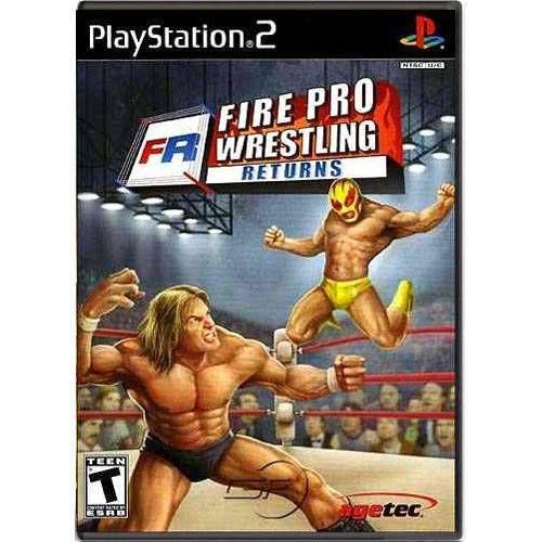 Fire Pro Wrestling Returns Seminovo – PS2