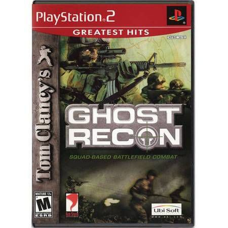 Ghost Recon Seminovo – PS2