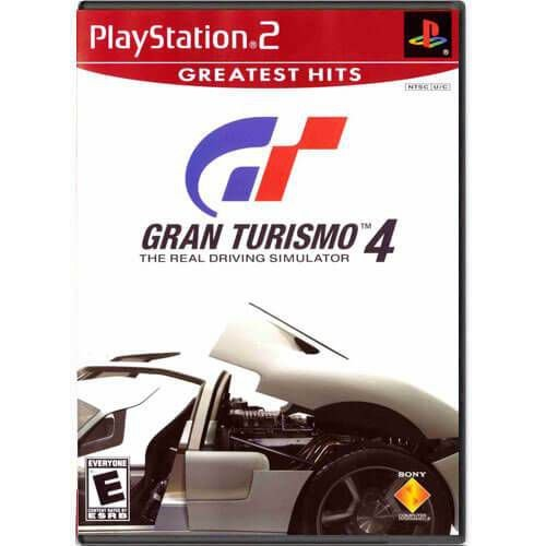 Gran Turismo 4 The Real Driving Simulator Seminovo – PS2