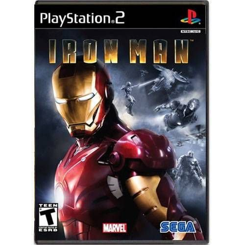 Iron Man Seminovo – PS2