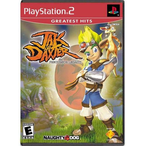 Jak And Daxter The Precursor Legacy Seminovo – PS2