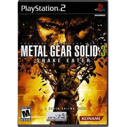 Metal Gear Solid 3 Snake Eater Seminovo – PS2