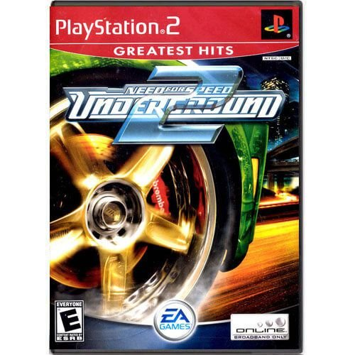Need For Speed Underground 2 Seminovo Sem Capa – PS2