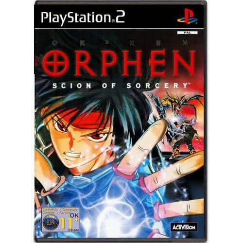 Orphen Scion Of Sorcery Seminovo – PS2