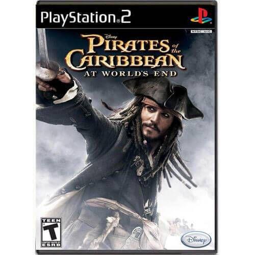 Pirates of The Caribbean At World's End Seminovo – PS2