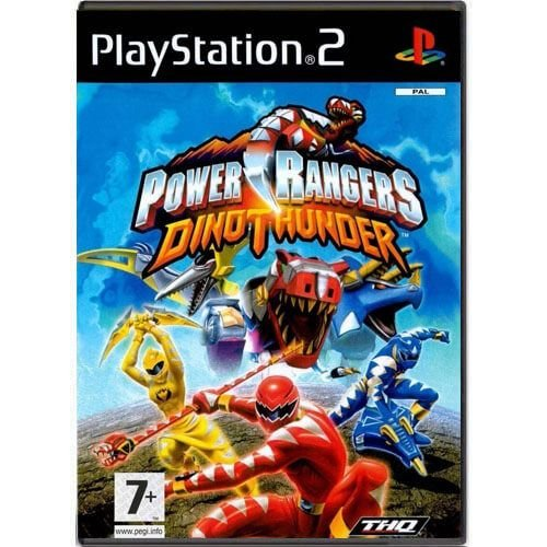 Power Rangers Dino Thunder Seminovo – PS2