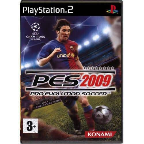 Pro Evolution Soccer 2009 Seminovo – PS2
