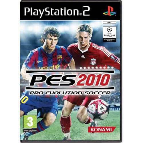 Pro Evolution Soccer 2010 Seminovo – PS2